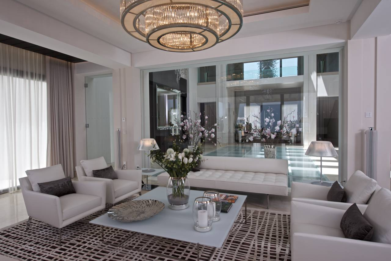 Gallery j sives surfacing ltd - Elegant contemporary living rooms ...